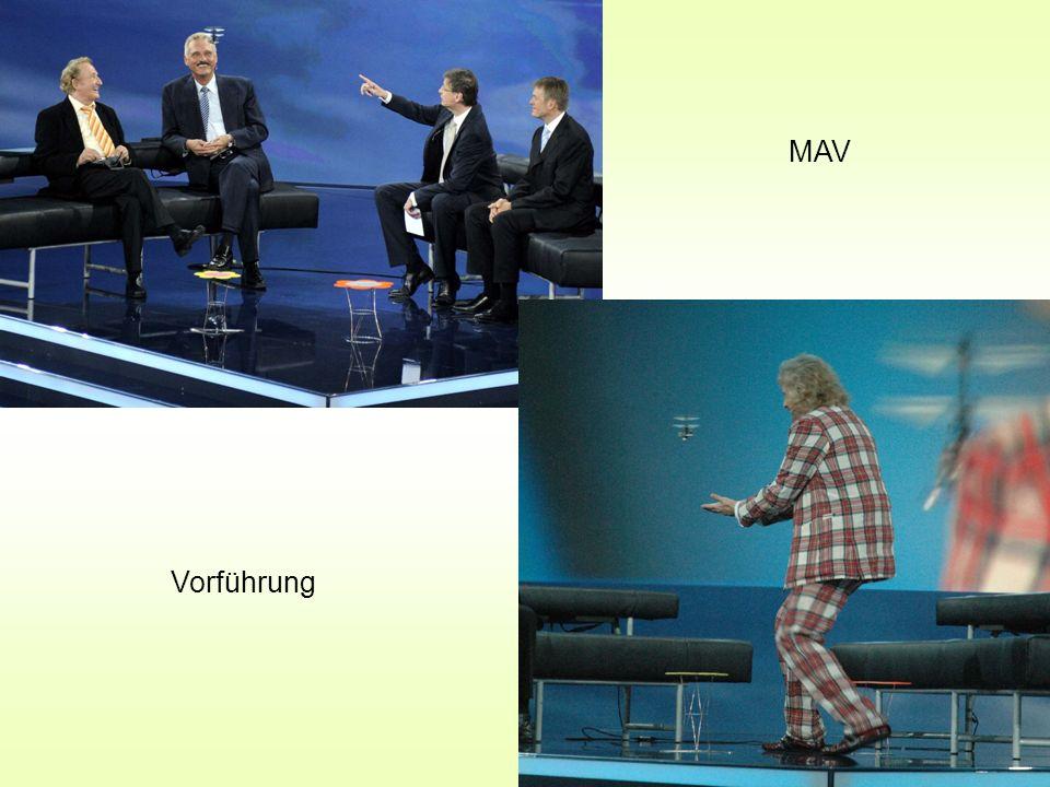 MAV Vorführung