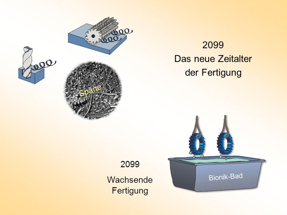 2099 Das neue Zeitalter der Fertigung 2008 Spanende Fertigung 2099