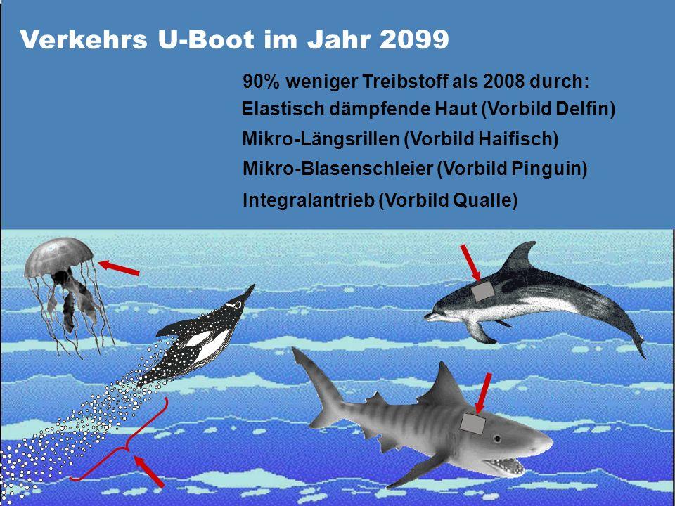 Verkehrs U-Boot im Jahr 2099