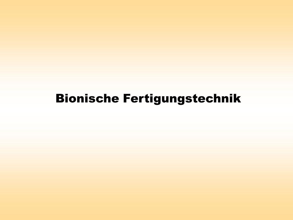 Bionische Fertigungstechnik