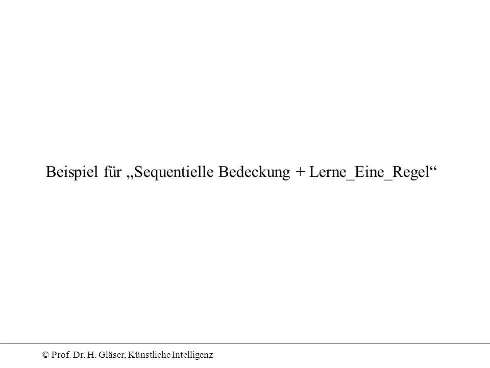 """Beispiel für """"Sequentielle Bedeckung + Lerne_Eine_Regel"""