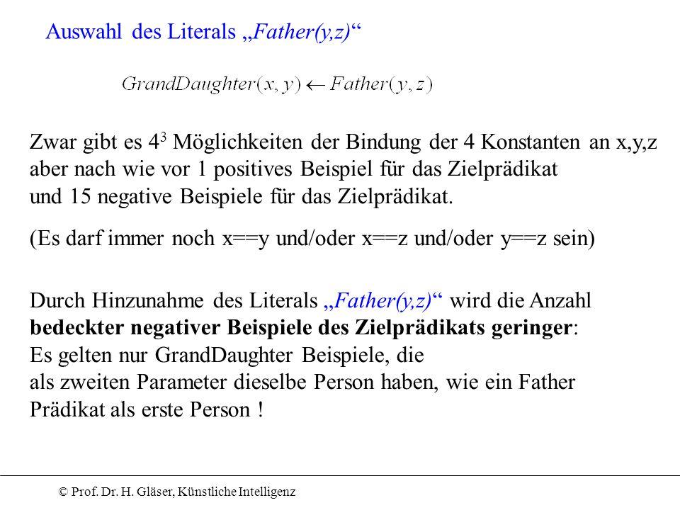 """Auswahl des Literals """"Father(y,z)"""