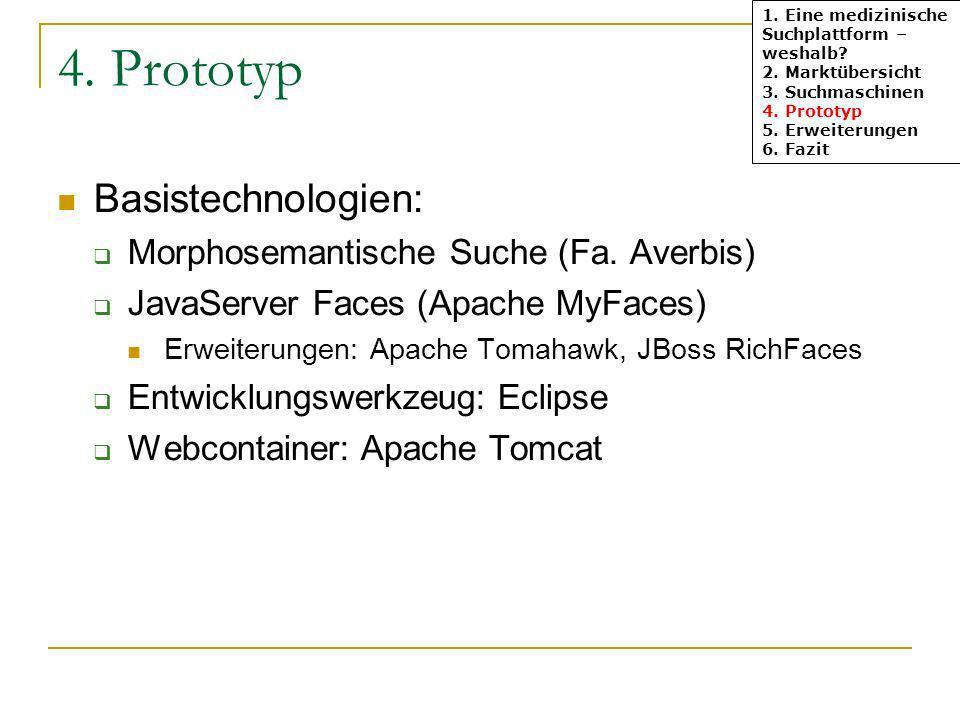 4. Prototyp Basistechnologien: Morphosemantische Suche (Fa. Averbis)
