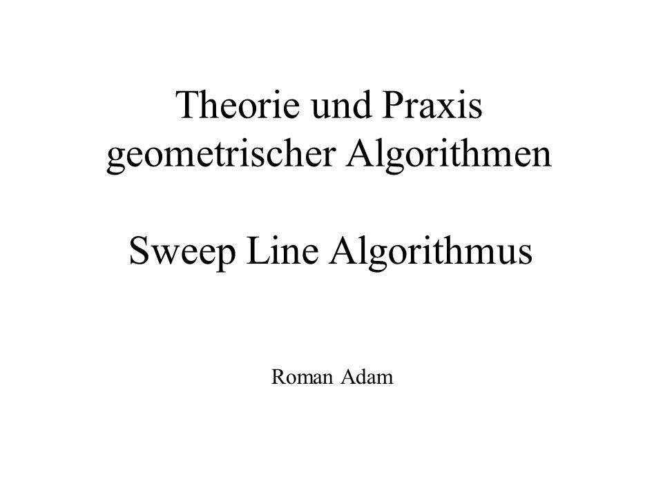 Theorie und Praxis geometrischer Algorithmen