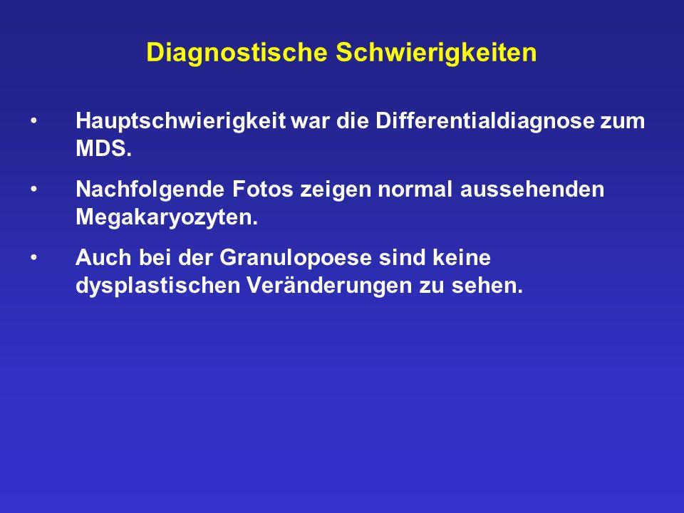 Diagnostische Schwierigkeiten