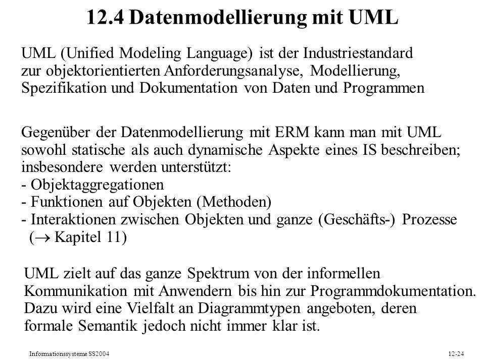 12.4 Datenmodellierung mit UML