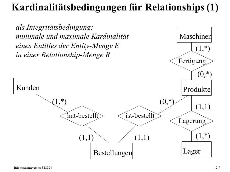 Kardinalitätsbedingungen für Relationships (1)