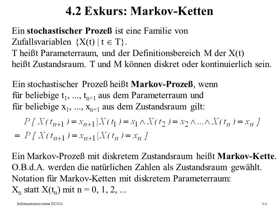 4.2 Exkurs: Markov-Ketten