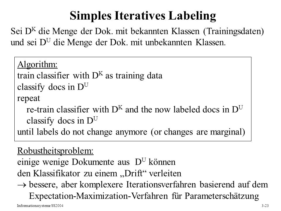 Simples Iteratives Labeling