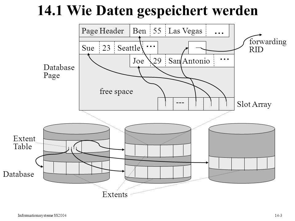 14.1 Wie Daten gespeichert werden