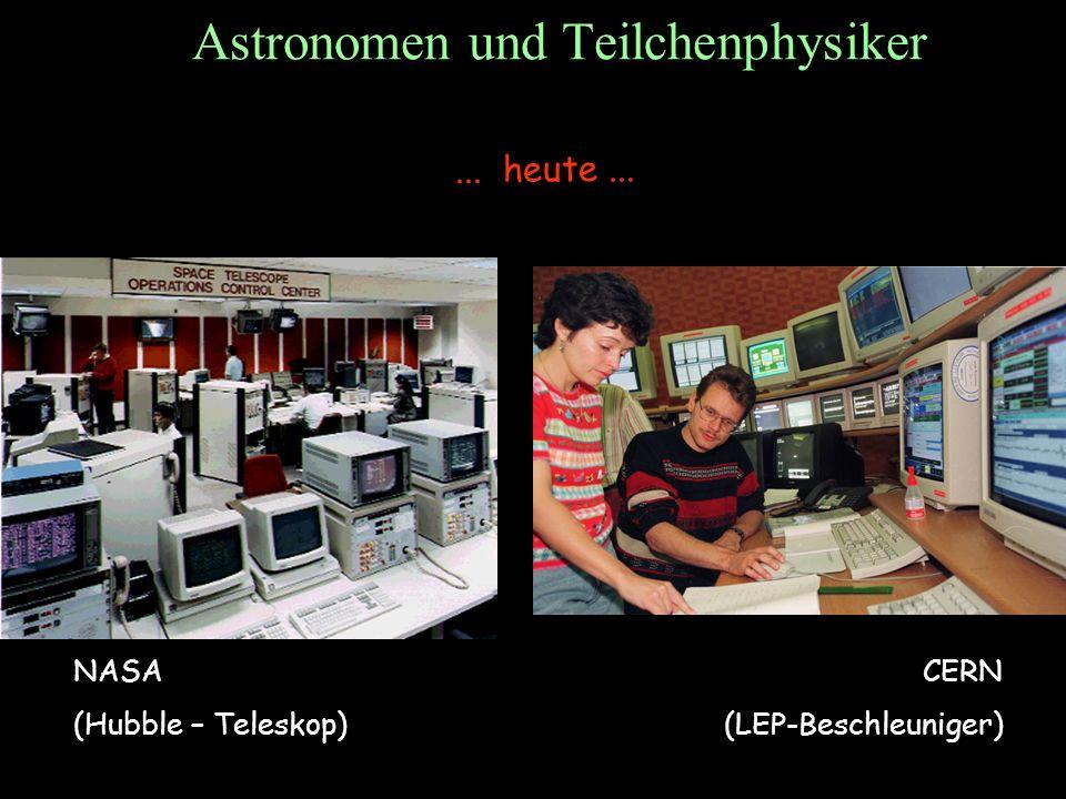 Astronomen und Teilchenphysiker