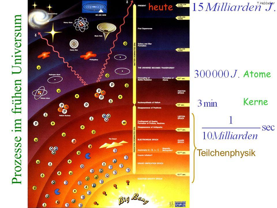 Prozesse im frühen Universum