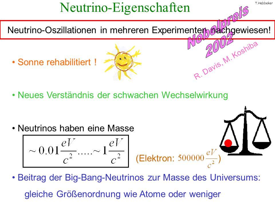 Neutrino-Eigenschaften
