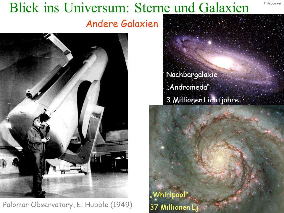 Blick ins Universum: Sterne und Galaxien