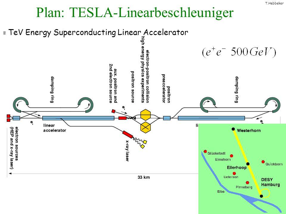 Plan: TESLA-Linearbeschleuniger