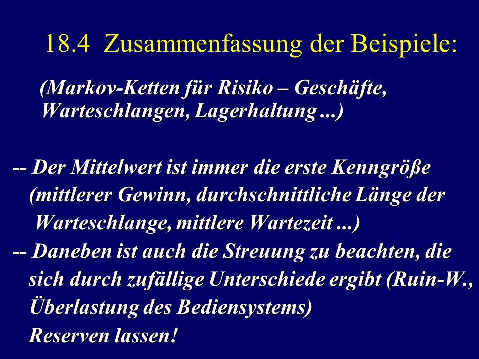 18.4 Zusammenfassung der Beispiele: