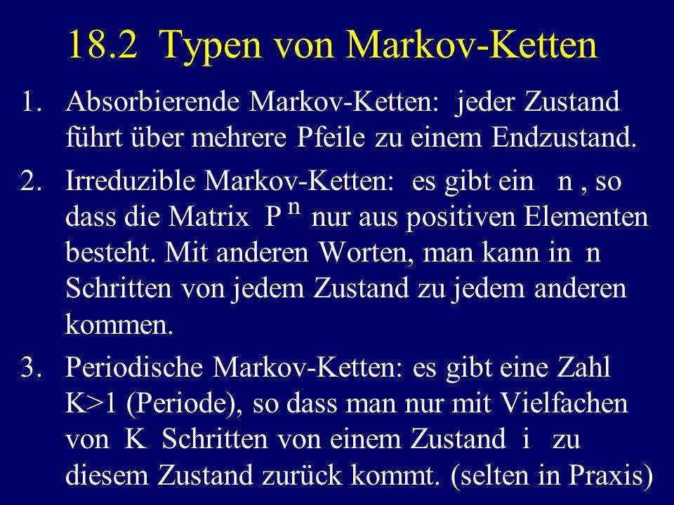 18.2 Typen von Markov-Ketten