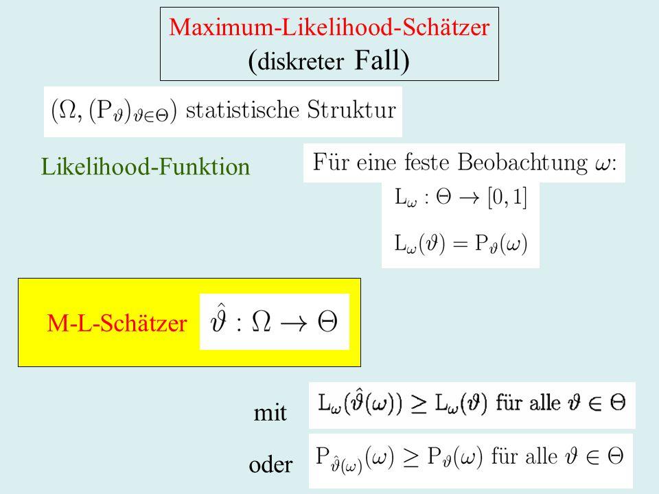 Maximum-Likelihood-Schätzer