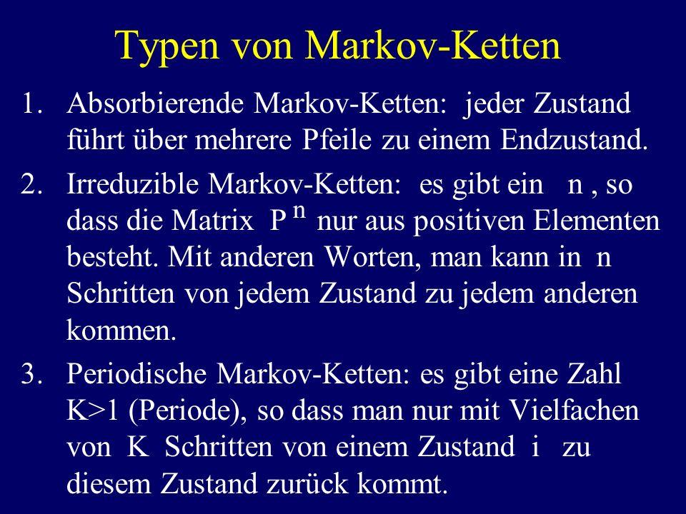 Typen von Markov-Ketten
