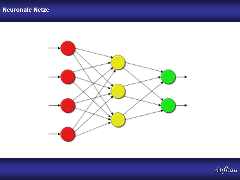 Neuronale Netze Aufbau