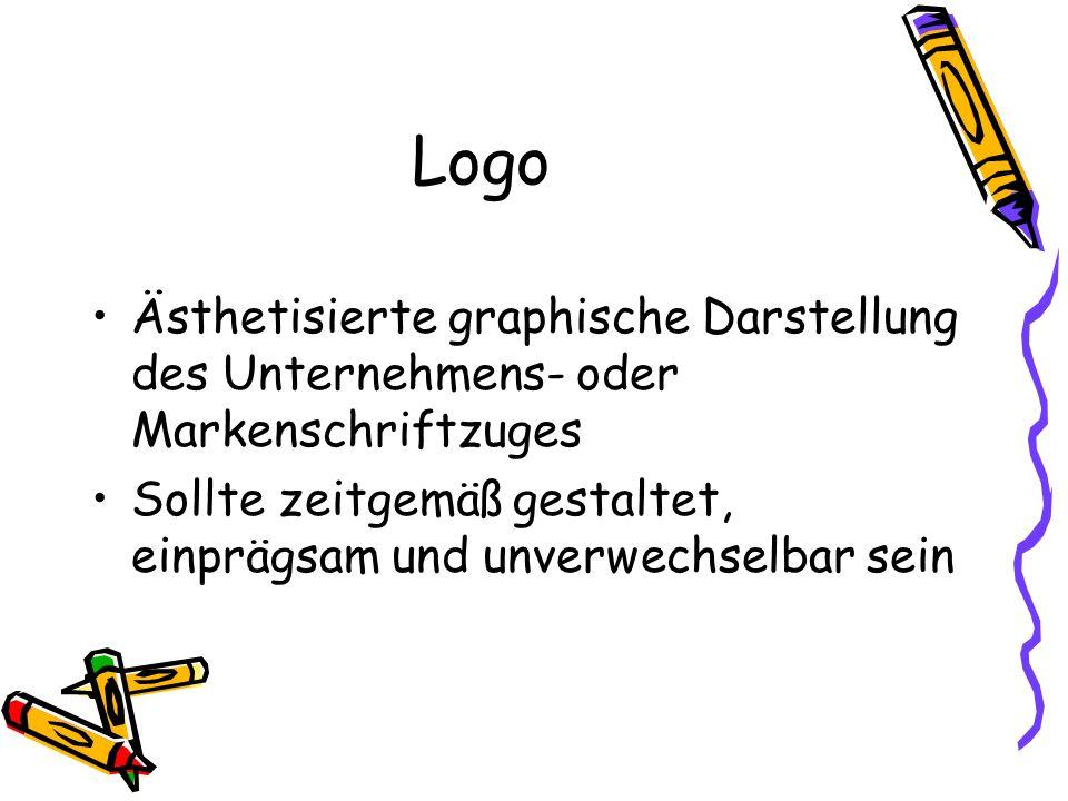 Logo Ästhetisierte graphische Darstellung des Unternehmens- oder Markenschriftzuges.