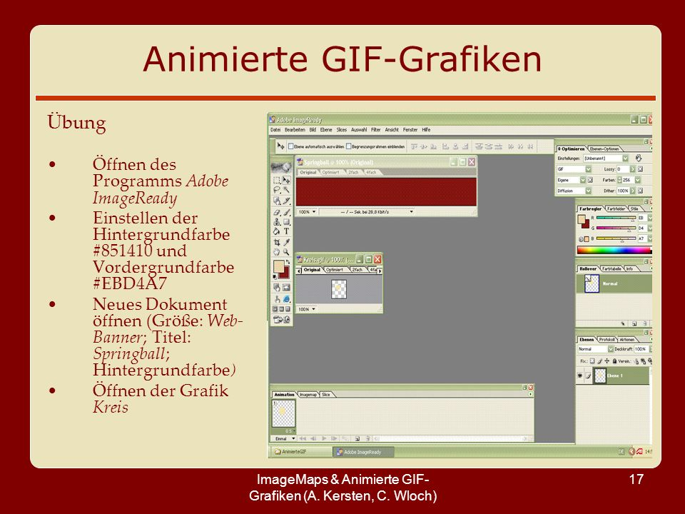 Animierte GIF-Grafiken