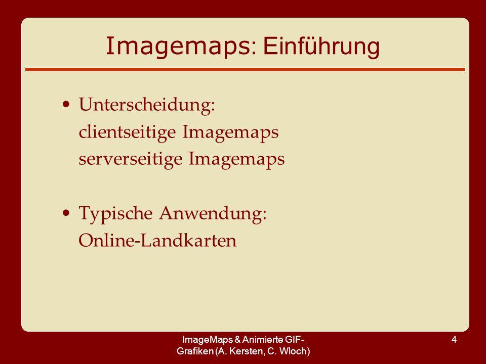 Imagemaps: Einführung