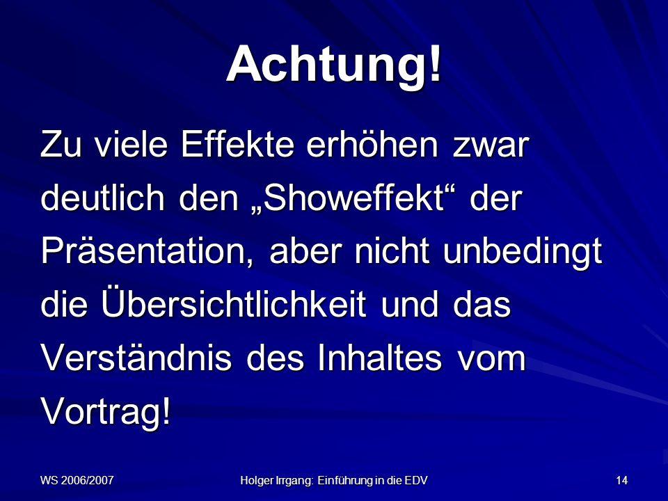 Holger Irrgang: Einführung in die EDV