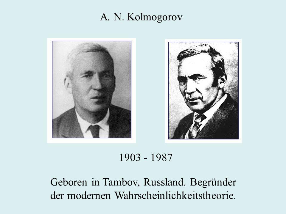 Geboren in Tambov, Russland. Begründer
