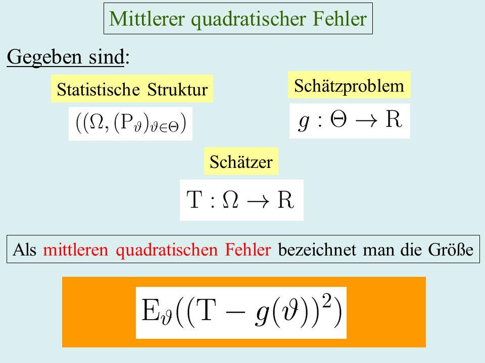 Mittlerer quadratischer Fehler