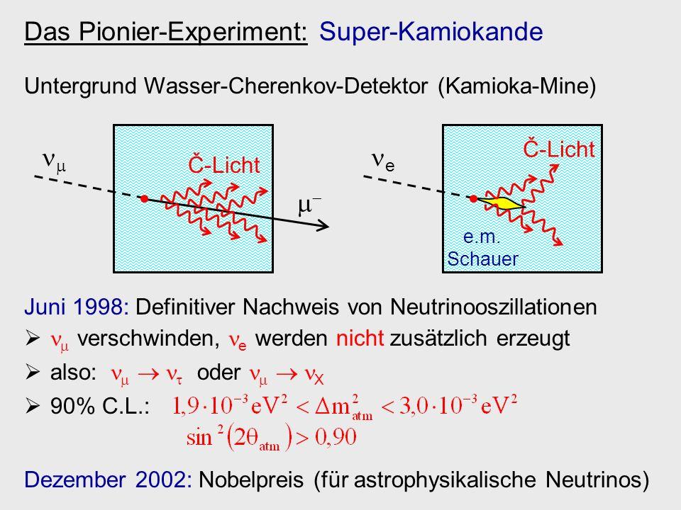 Das Pionier-Experiment: Super-Kamiokande