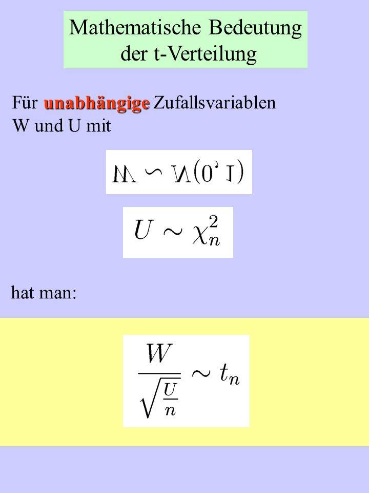 Mathematische Bedeutung