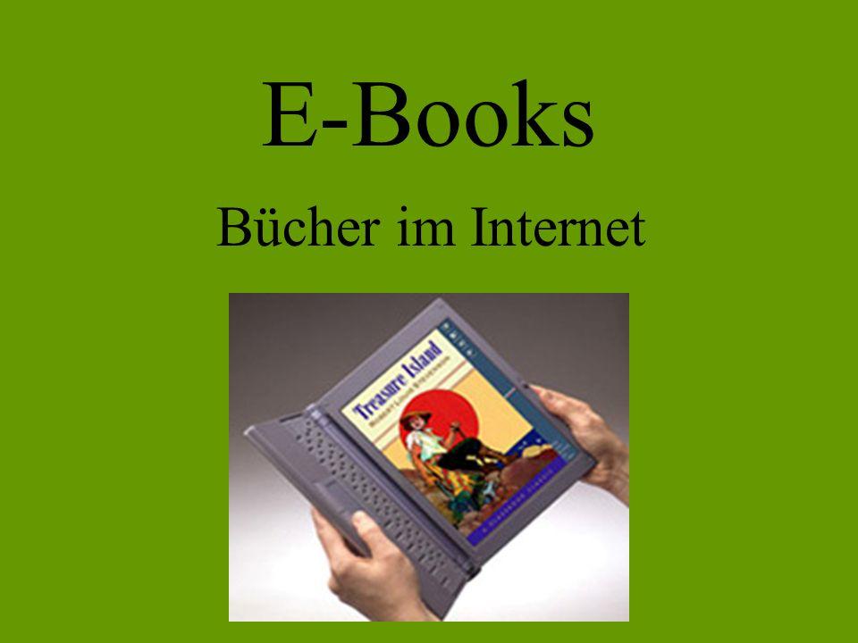 E-Books Bücher im Internet