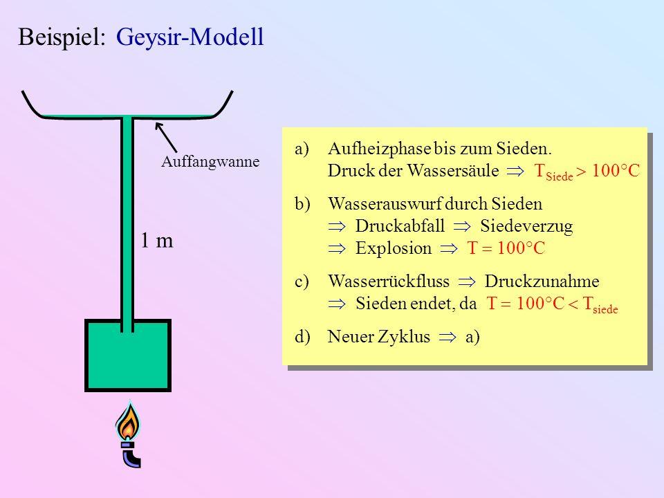 Beispiel: Geysir-Modell