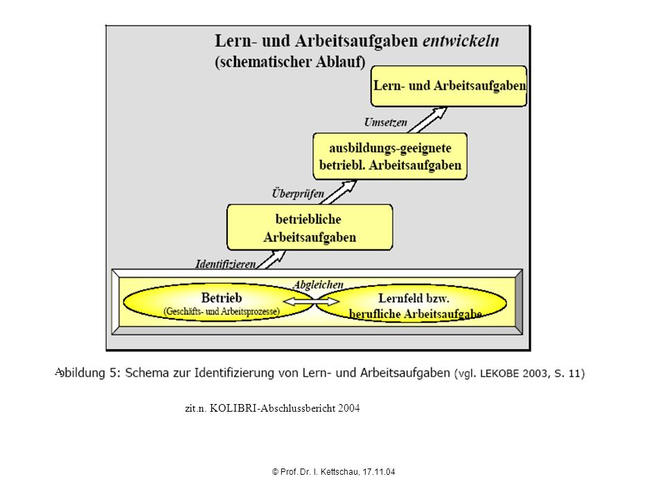 zit.n. KOLIBRI-Abschlussbericht 2004