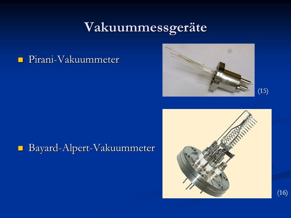 Vakuummessgeräte Pirani-Vakuummeter Bayard-Alpert-Vakuummeter (15)