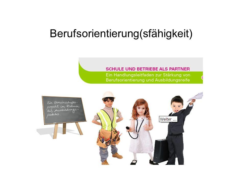 Berufsorientierung(sfähigkeit)
