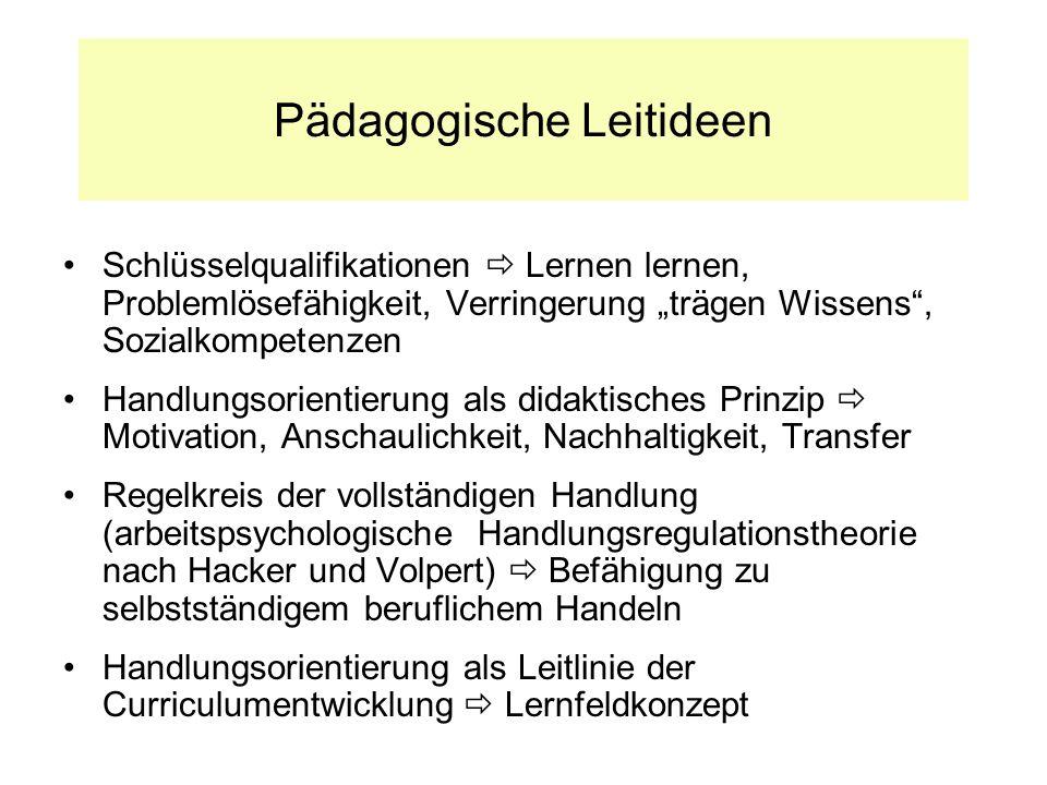 Pädagogische Leitideen