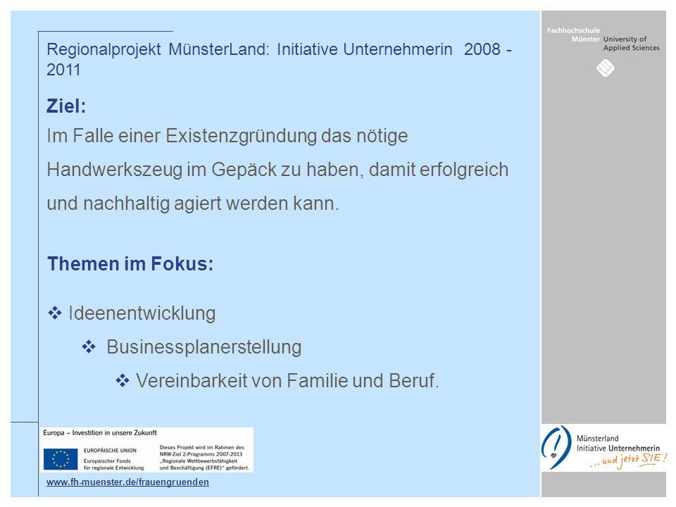 Businessplanerstellung Vereinbarkeit von Familie und Beruf.