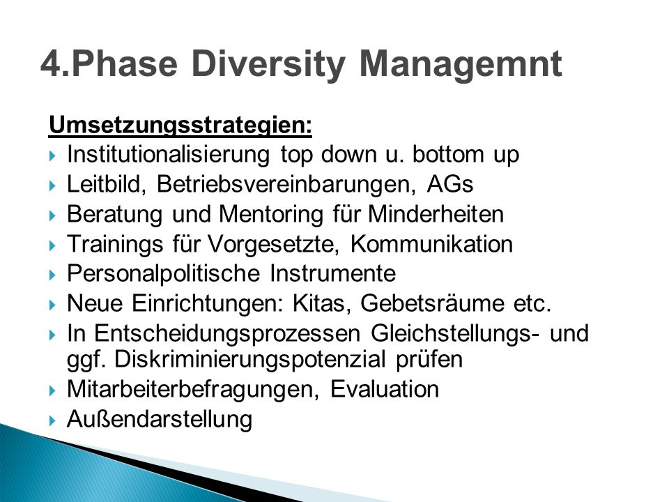 4.Phase Diversity Managemnt