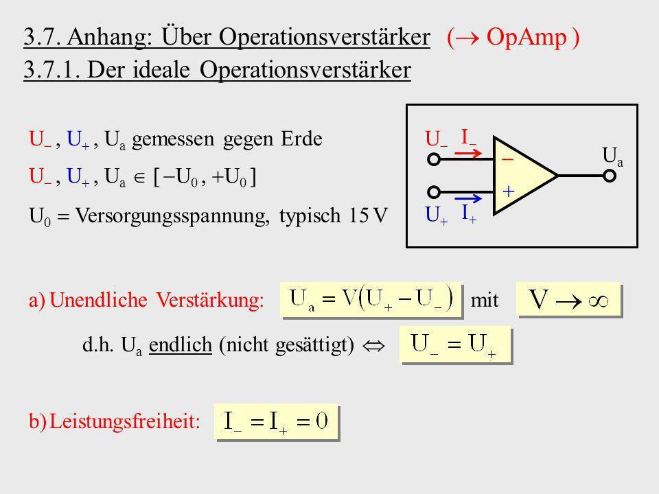 3.7. Anhang: Über Operationsverstärker ( OpAmp )