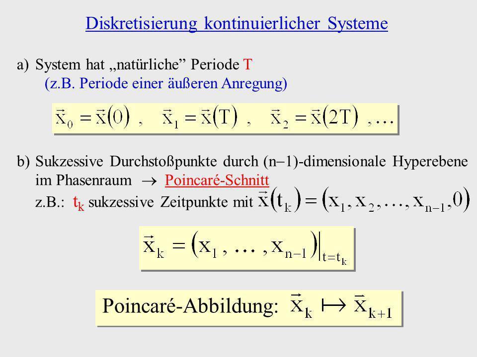 Diskretisierung kontinuierlicher Systeme