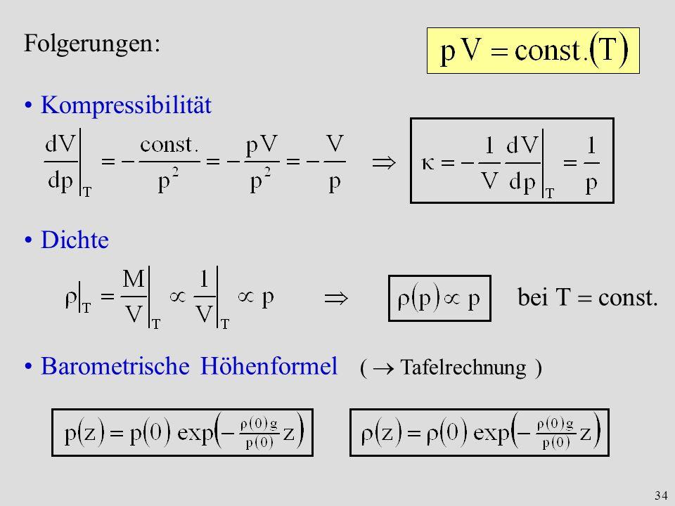Barometrische Höhenformel (  Tafelrechnung )