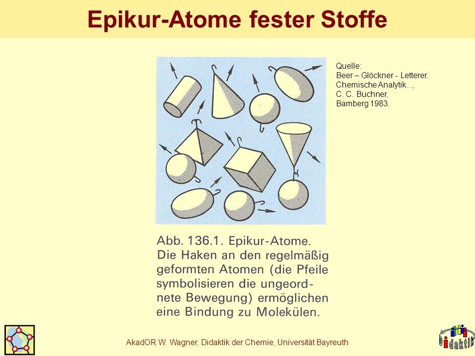 Epikur-Atome fester Stoffe