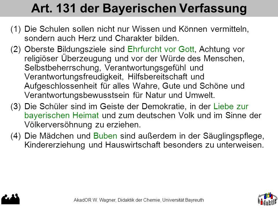 Art. 131 der Bayerischen Verfassung