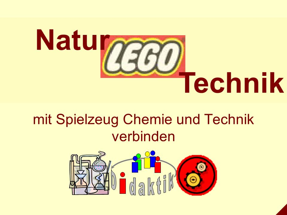 mit Spielzeug Chemie und Technik verbinden