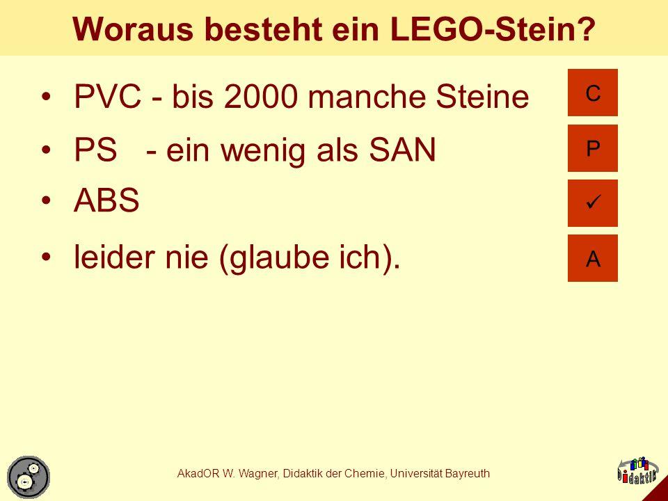 Woraus besteht ein LEGO-Stein