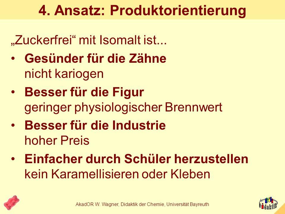 4. Ansatz: Produktorientierung