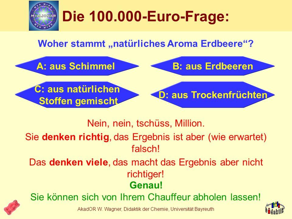 """Die 100.000-Euro-Frage: Woher stammt """"natürliches Aroma Erdbeere"""
