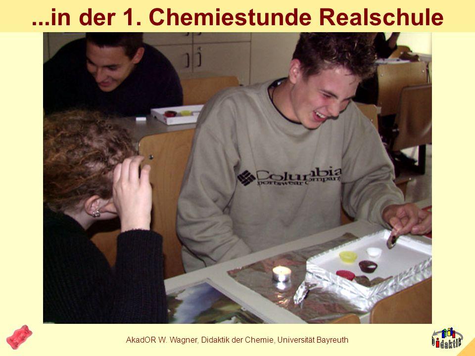 ...in der 1. Chemiestunde Realschule
